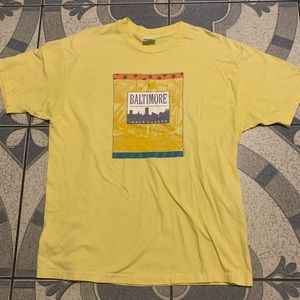 Vintage Baltimore Graphic Single-Stitched Box Tee